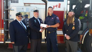 Another $25,000 was donated to help fire fighters who fought the wildfire // Jaryn Vecchio - Harvard Broadcasting