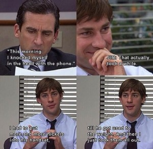 funny-Office-Michael-phone-prank-Jim