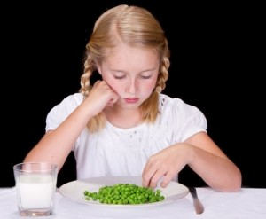 But Mom! If it wasn't for King Louis XIV I would eat peas!""