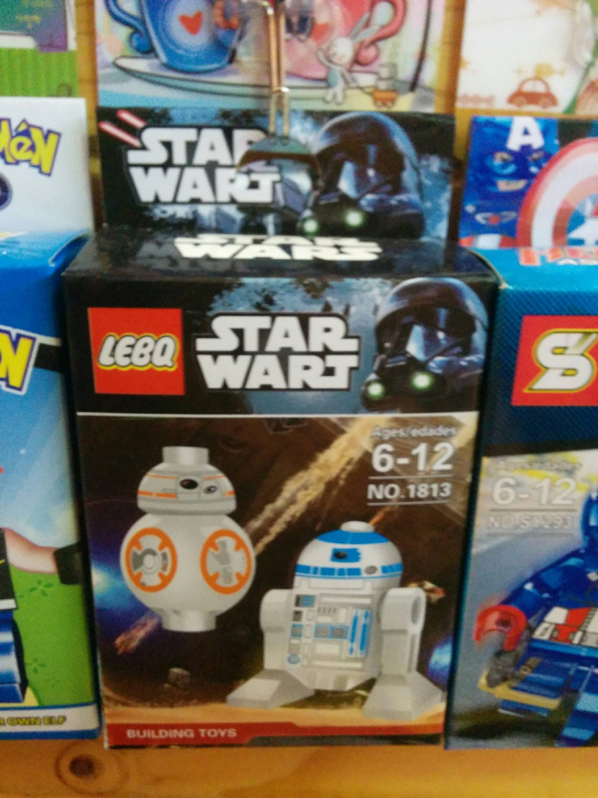 LEBQ? Star Wart? What the hell?