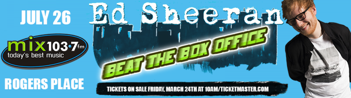 Ed Sheeran 2nd Show - BEAT THE BOX OFFICE